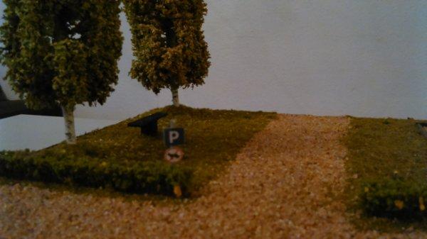 Un diorama printanier !