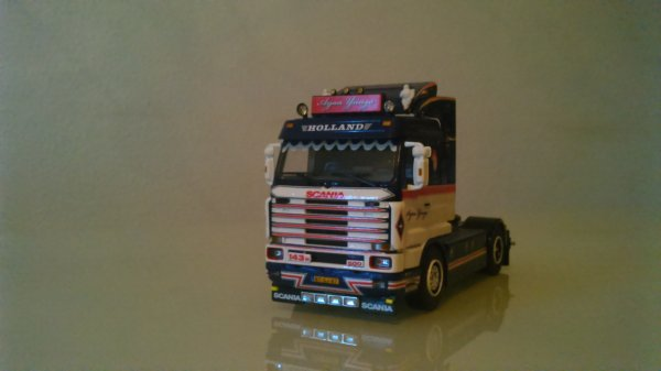 Scania 143 M Arjan Ysinga