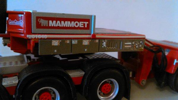 Volvo fh 4 mammoet  Merci à ma petite femme pour ce cadeau !!