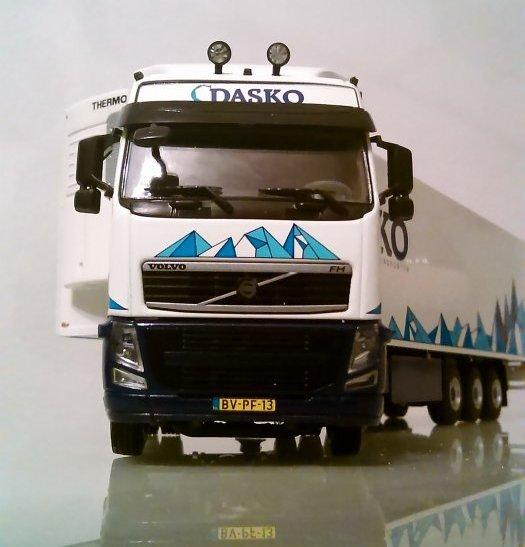 Volvo Dasko arrivé cassé maintenant réparé et exposé !