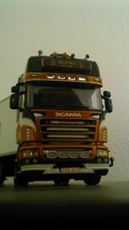 L'arrivée de la semaine ...... Scania ditraco ....