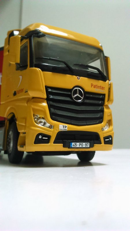 Mercedes actros patinter