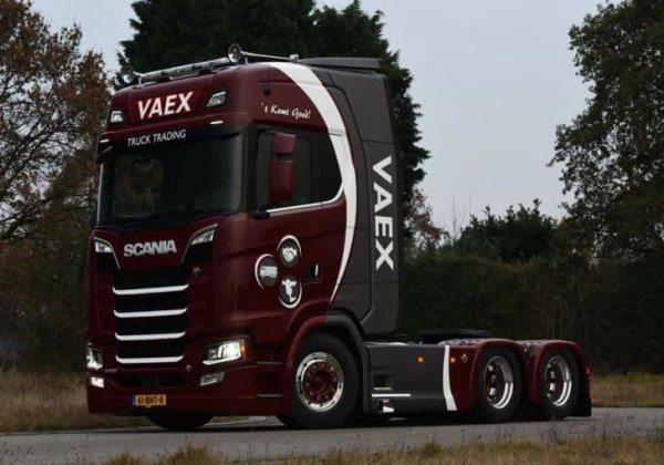 new scania ..