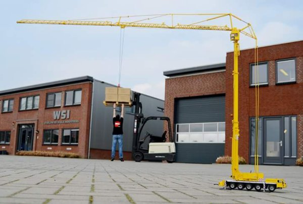 Nouvelle grue made in wsi !!!