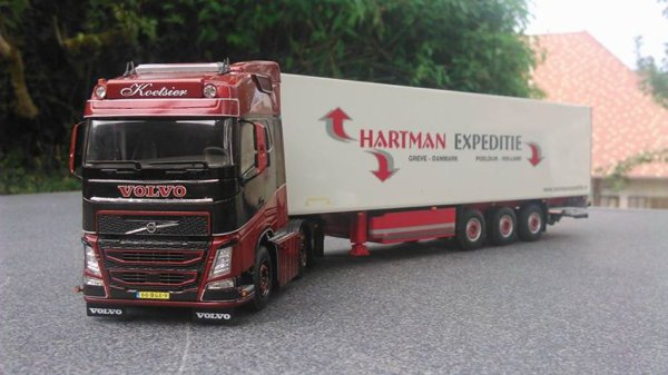 Volvo koetsier & Hartmann expeditie