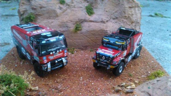 Renault Dakar Mammoet ....  Les deux seuls Renault sorties par WSI ... dommage ...