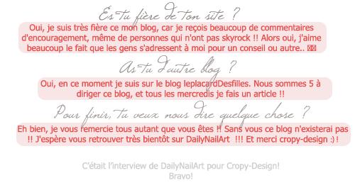 Interview de DailyNailArt