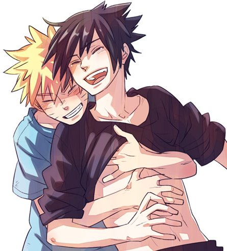 I love basket And Naruto chap 9 et 10