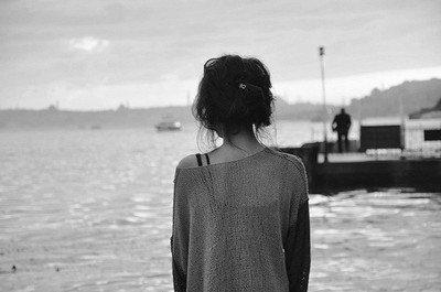 Il me manque une partie de moi, tu es parti avec.