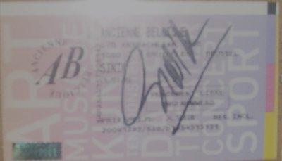 Autogrphe...