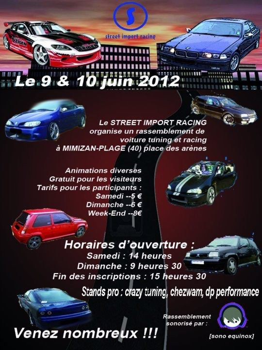 1er rassemblement tuning et racing du street import racing