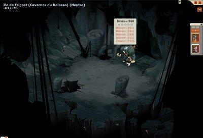 Donjon Frigost 7 - Caverne du Kolosso