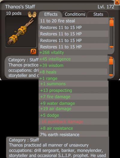 Des items Frigost 2 (suite)