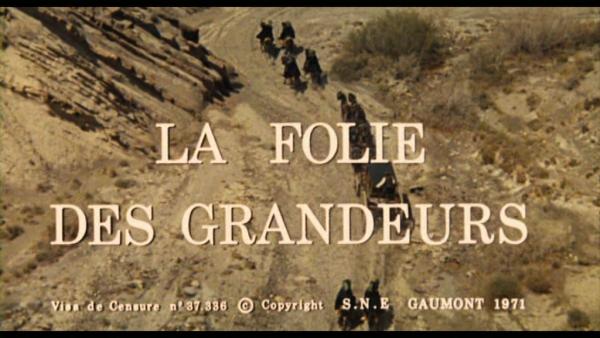 Rétrospéctive Gérard Oury Louis de Funès:LA FOLIE DES GRANDEURS