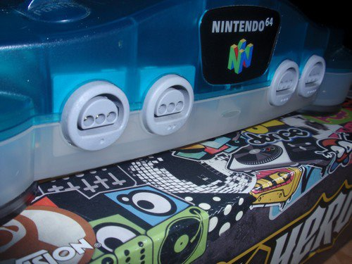 # Nintendo 64 Ice Blue