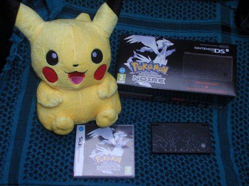 Pack Nintendo DSi Pokemon Edition Limitée Noire
