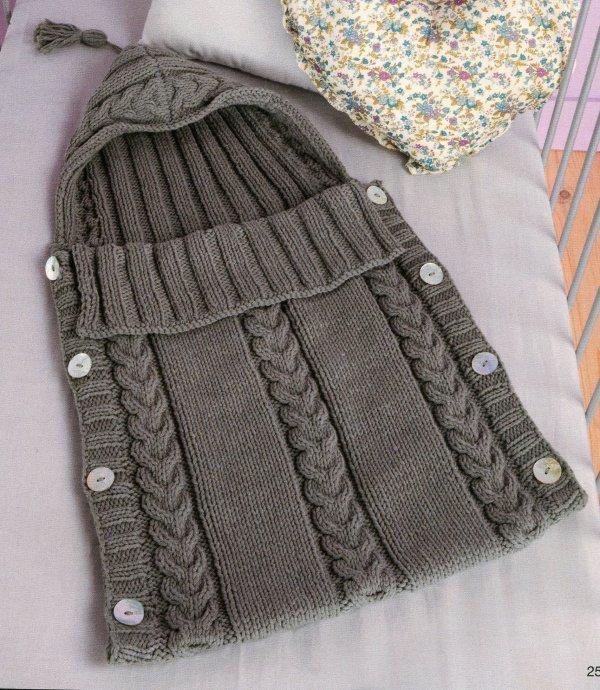 modele nid d 39 ange bebe modeles tricot et crochet. Black Bedroom Furniture Sets. Home Design Ideas