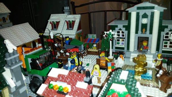 Village d'hiver Lego 2015 partie1