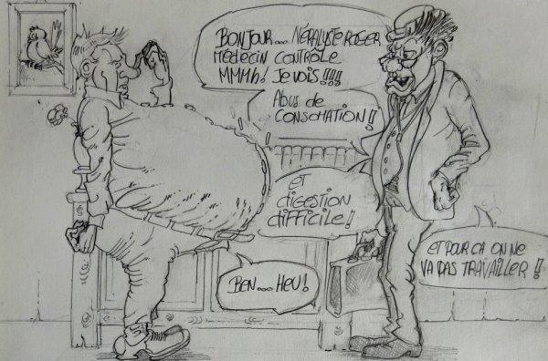 Médecin contrôle ...