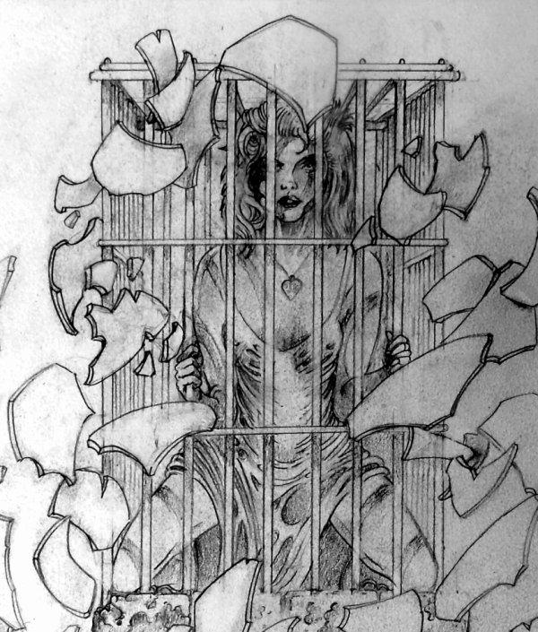 Prisonnière de son esprit ...