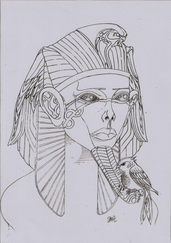 Coiffe a Horus !