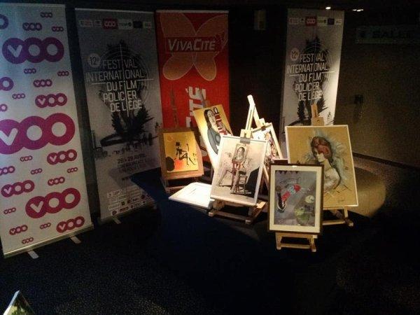 Expo de 13 ème festival du film policier a liège ...