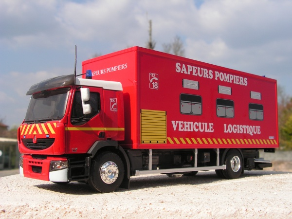 renault pompiers v hicule logistique minia17. Black Bedroom Furniture Sets. Home Design Ideas
