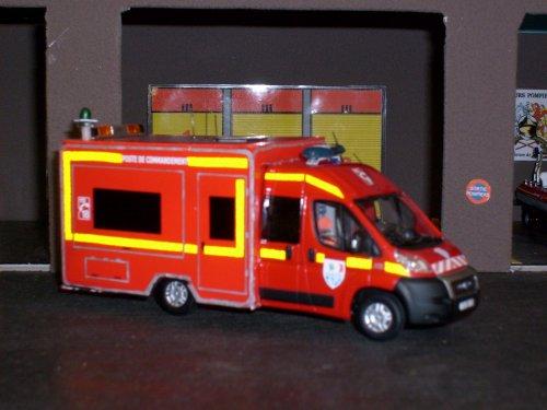 Fiat ducato PC Médical SDIS17