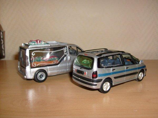 Renault Espace et Trafic Corbillard/Hearse by minia17