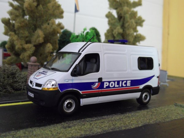 Renault Master police New sérigraphie
