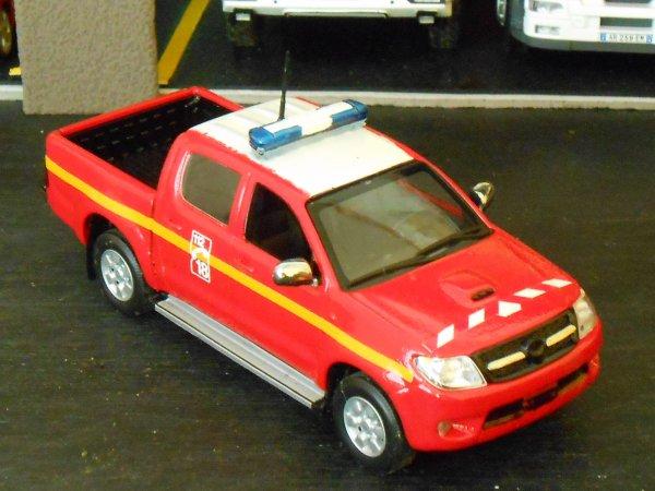 Nouvelle VLHR Toyota Hilux