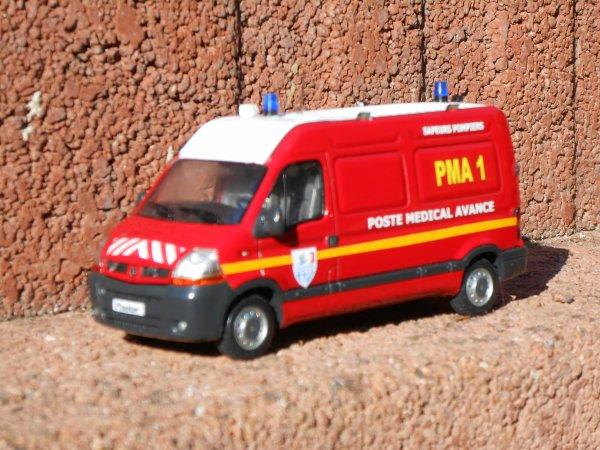 PMA 1 Renault master 1:43ème Eligor by Minia17