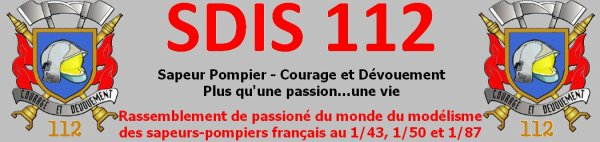 Inscription au forum SDIS 112
