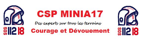Mon logo pour le CSP MINIA17
