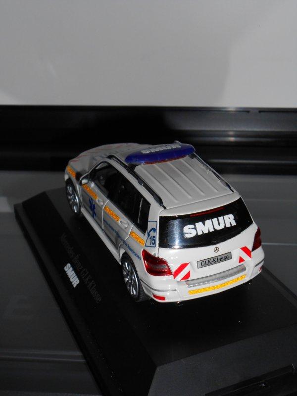 Mercedes GLK SMUR imaginaire au 1:43ème