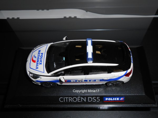Citroën DS5 Police by Minia17