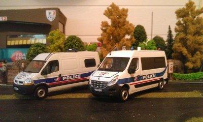 Master 2 et 3 de la Police Nationale