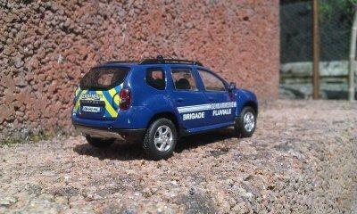 Duster Gendarmerie Brigade fluviale