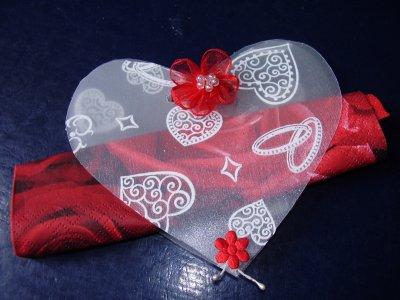 Porte serviette de table pour un mariage