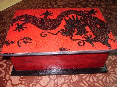 Boite a sucre dragon