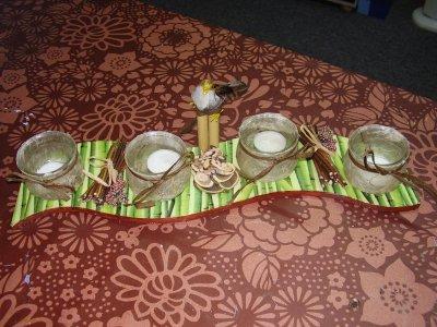 MON NOUVEAU CENTRE DE TABLE