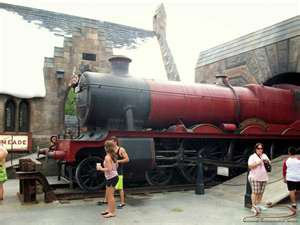 The wizarding world of harry potter !
