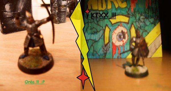 Oréo V.S Kixx !!! :P