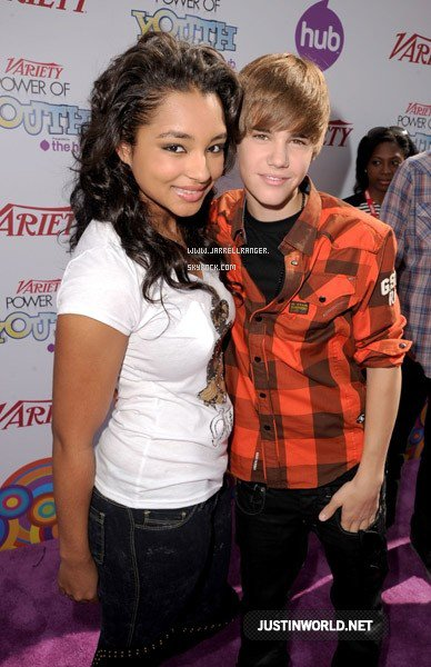Justin & Jessica au Variety's 4th Annual Power Of Youth Event aujourd'hui ! :) / today ! :)