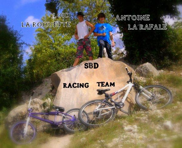La SBD Racing Team est là pour tout déchirer ;) LaRoquette &&² LaRafale ;)