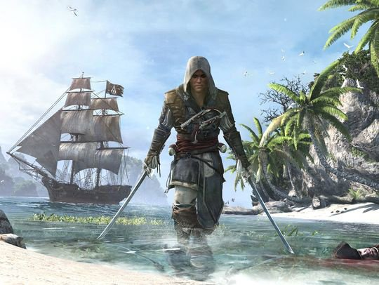 Le nouvel assassin Edward KENWAY