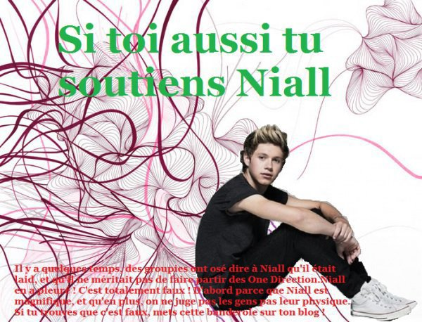 Soutenons Niall Horan