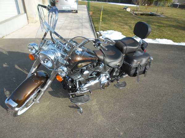 Harley Davidson Softail Heritage 2013