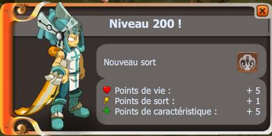 Iop up level 200