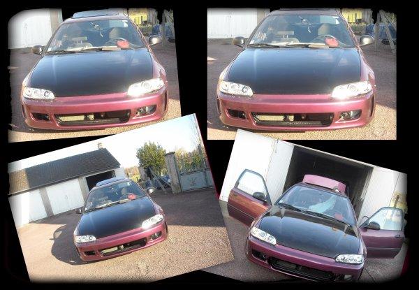 Honda civic coupé ej2